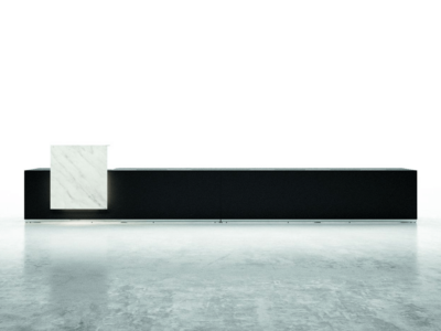 Reception Lux Complet Counter With One Linear Shelf Mainimg