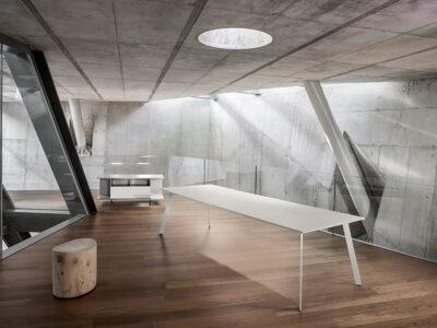 Bordo – Designer Concrete, Wood Or Lacquer Finish Executive Desk7