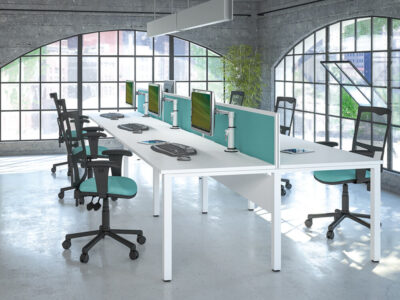 Logan 1 – U Leg Double Operational Office Desk