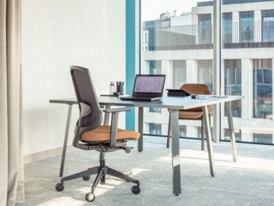 Mocko 1 – Office Desk Range With White Leg..