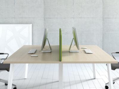 Mocko 1 – Office Desk Range With White Leg1