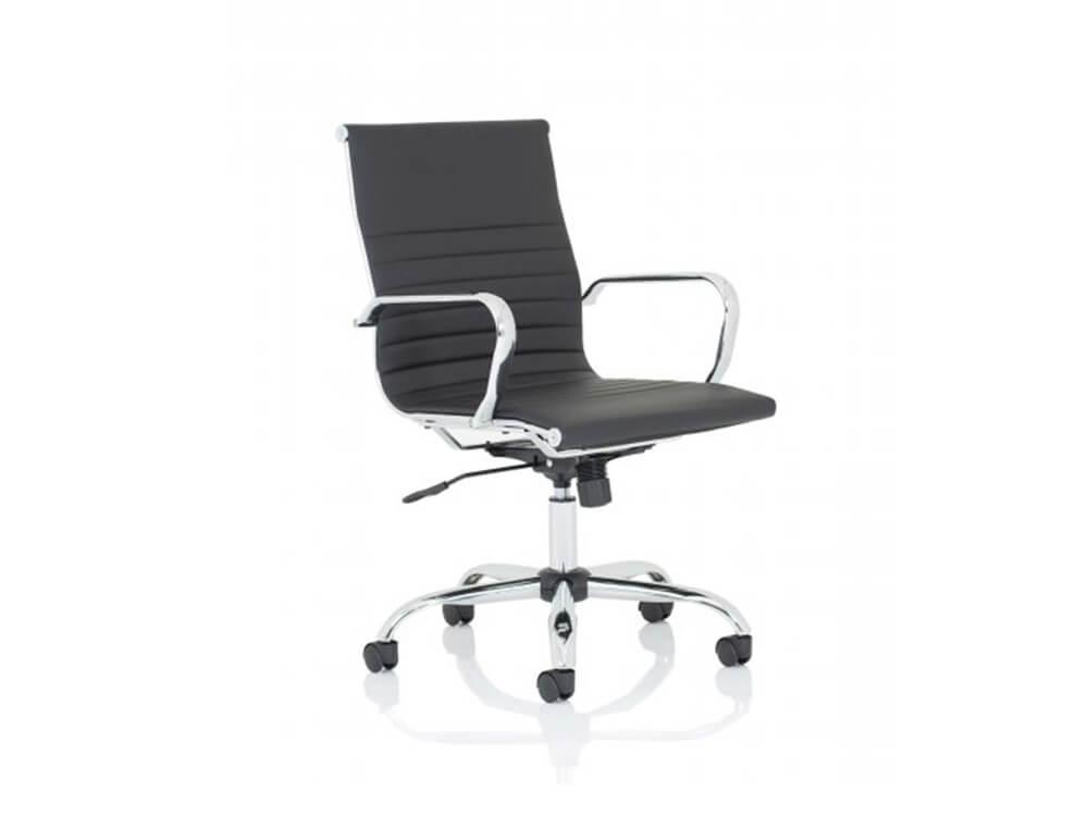 Novel 1 – Medium Back Meeting Room Chair (black)