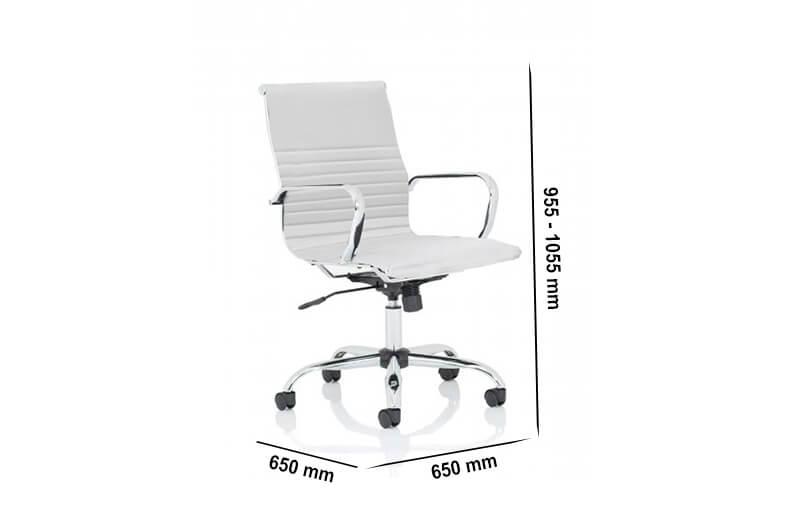 Size Novel 1 – Medium Back Meeting Room Chair