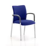 Academy Bespoke Colour Fabric Back With Arm Stevia Blue