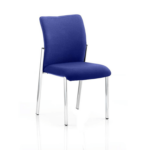 Academy Bespoke Colour Fabric Back Without Arm Stevia Blue