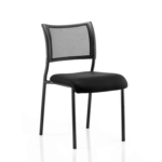 Dale – Mesh Back Visitor Chair Black Withoutarms Black
