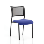Dale – Mesh Back Visitor Chair Black Withoutarms Blue