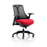 Flex Bespoke Colour Seat In Black Black Cherry