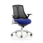Flex Bespoke Colour Seat In Black White Blue