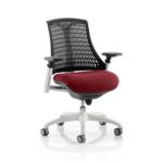 Flex Bespoke Colour Seat In Black White Chilli