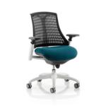 Flex Bespoke Colour Seat In Black White Teal