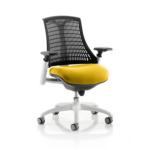 Flex Bespoke Colour Seat In Black White Yellow