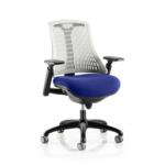 Flex Bespoke Colour Seat In White Black Blue