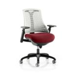 Flex Bespoke Colour Seat In White Black Chilli
