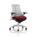 Flex Bespoke Colour Seat In White White Chilli