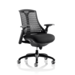 Flex Task Operator Chair In Multicolor Back With Arms Black Black