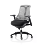 Flex Task Operator Chair In Multicolor Back With Arms Grey Black