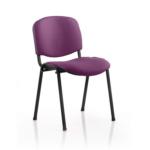 Iso Black Frame Bespoke Colour Fabric Purple Black