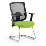 Portland Visitor Cantilever Chair Green