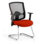 Portland Visitor Cantilever Chair Red
