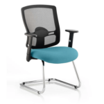 Portland Visitor Cantilever Chair Teal