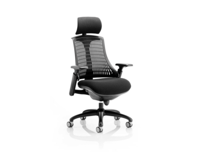 Lex Task Operator Chair In Multicolor Back Black Black