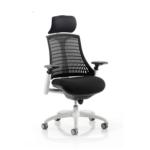 Lex Task Operator Chair In Multicolor Back Black White