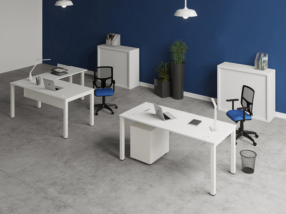 Arial Executive Desk With Fixed Legs Main Image