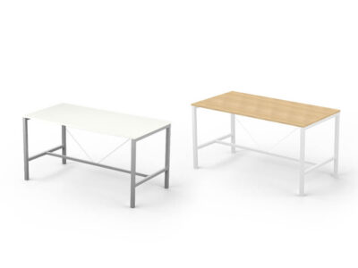 Arial Meeting Table With Footrest