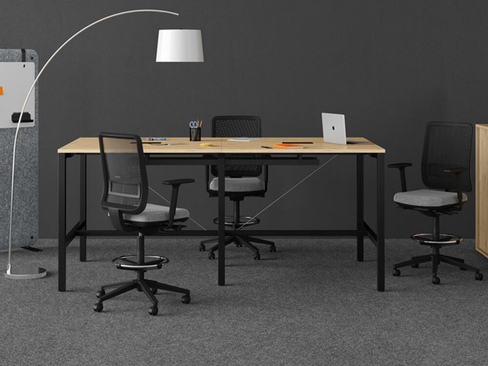 Arial Meeting Table With Optional Footrest Main Image