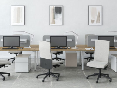 Arial Workstation For 2,4 And 6 People With Fixed Height 1