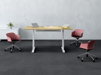 Axel Electric Height Adjustable Meeting Table Main Image