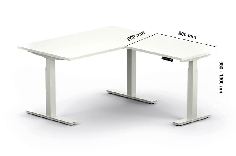 Axel Standalone Electric Height Adjustable Desk Perfect Adtion