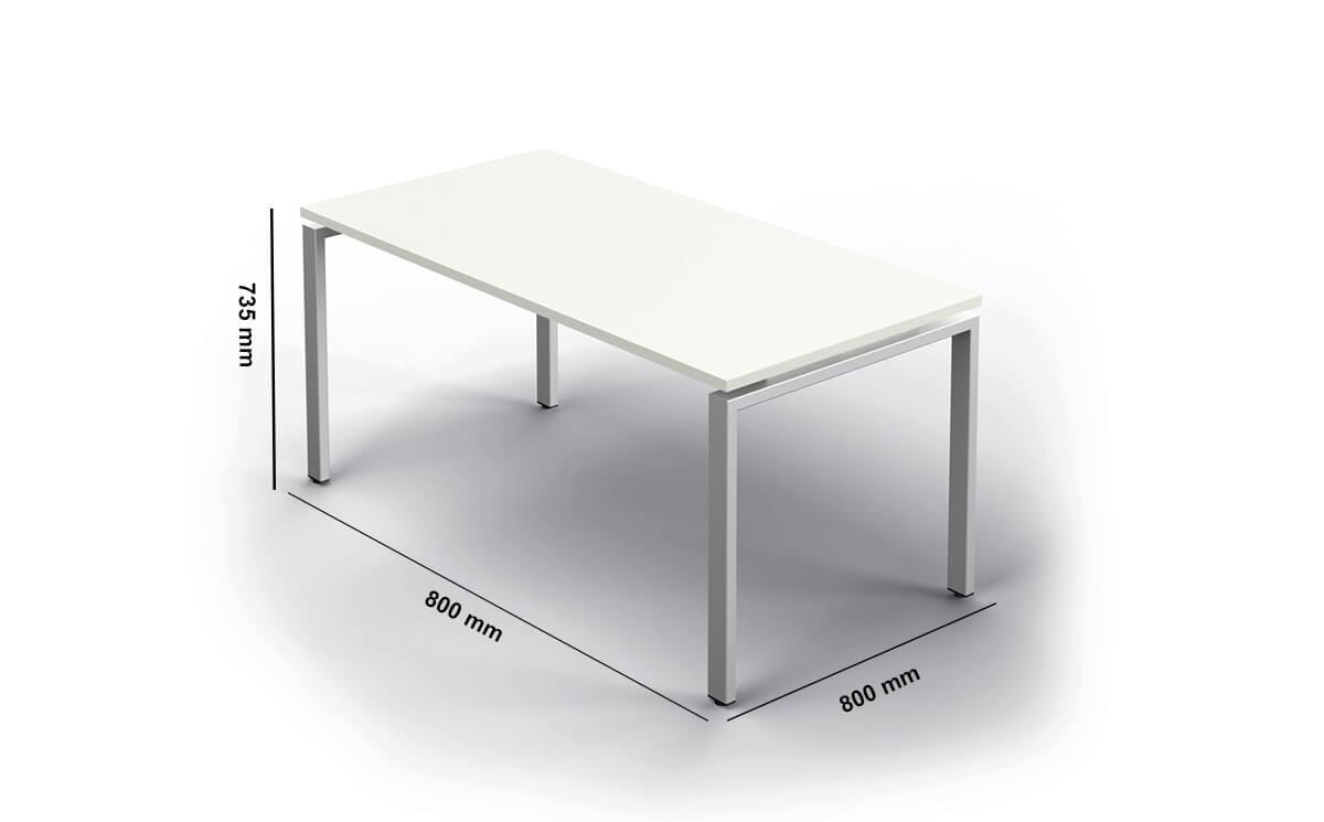 Connect Executive Desk Dimension Image