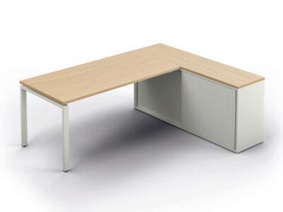 Connect Executive Desk With Credenza Unit
