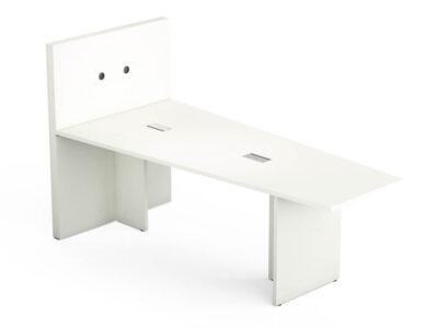 E Meeting Table With Panel Legs And Multimedia Wall 2
