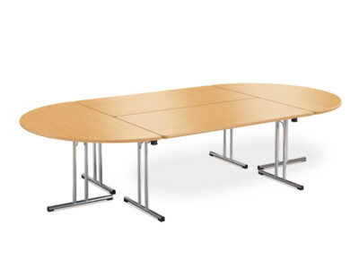 Folding Meeing Table With Chrome Legs Main Image