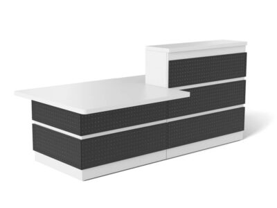 Guest Reception Desk With Dda Approved Wheelchair Access Unit Main Image