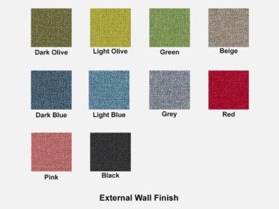 Hako External Wall Finish Image