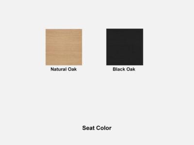 Hygge – Modern Scandinavian Design Chair Seat Color