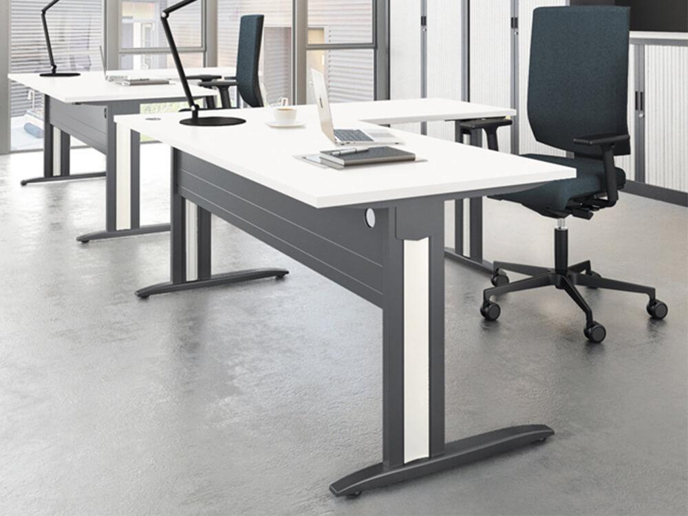 Idol Executive Desk With Fixed Legs Main Image