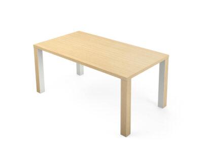 Kara Rectengular Desk With 4 Legs 1