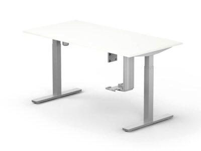 Lutz Executive Desk With Adjustable Legs 1