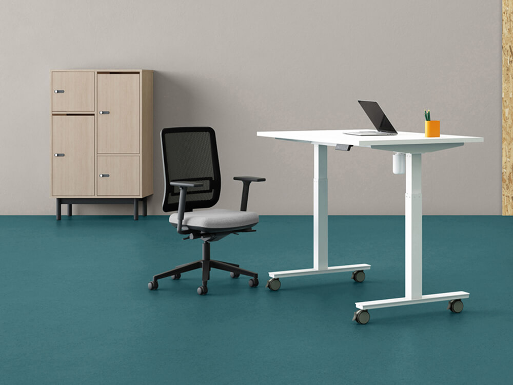 Lutz Executive Desk With Adjustable Legs Main Image