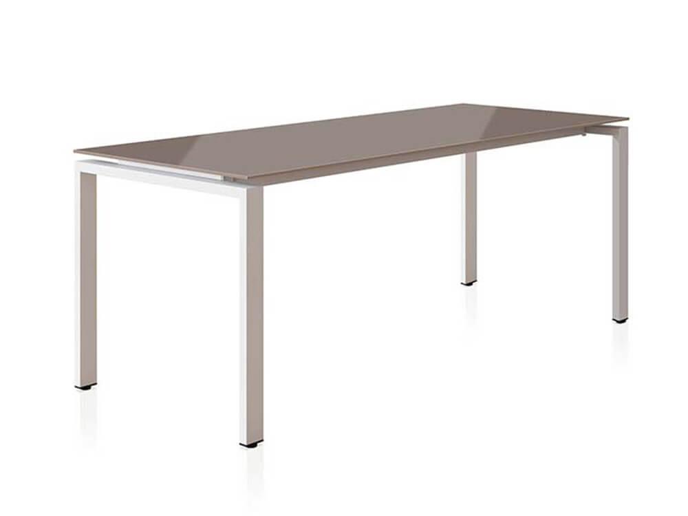 Rio Executive Desk With Glass Top Main Image