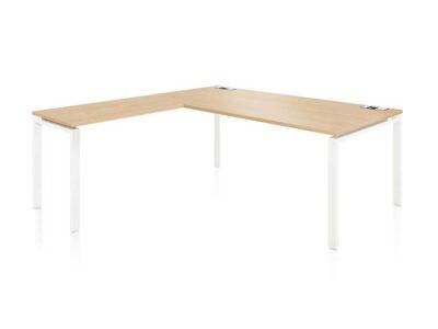 Rio Executive Desk With Melamine Top 1