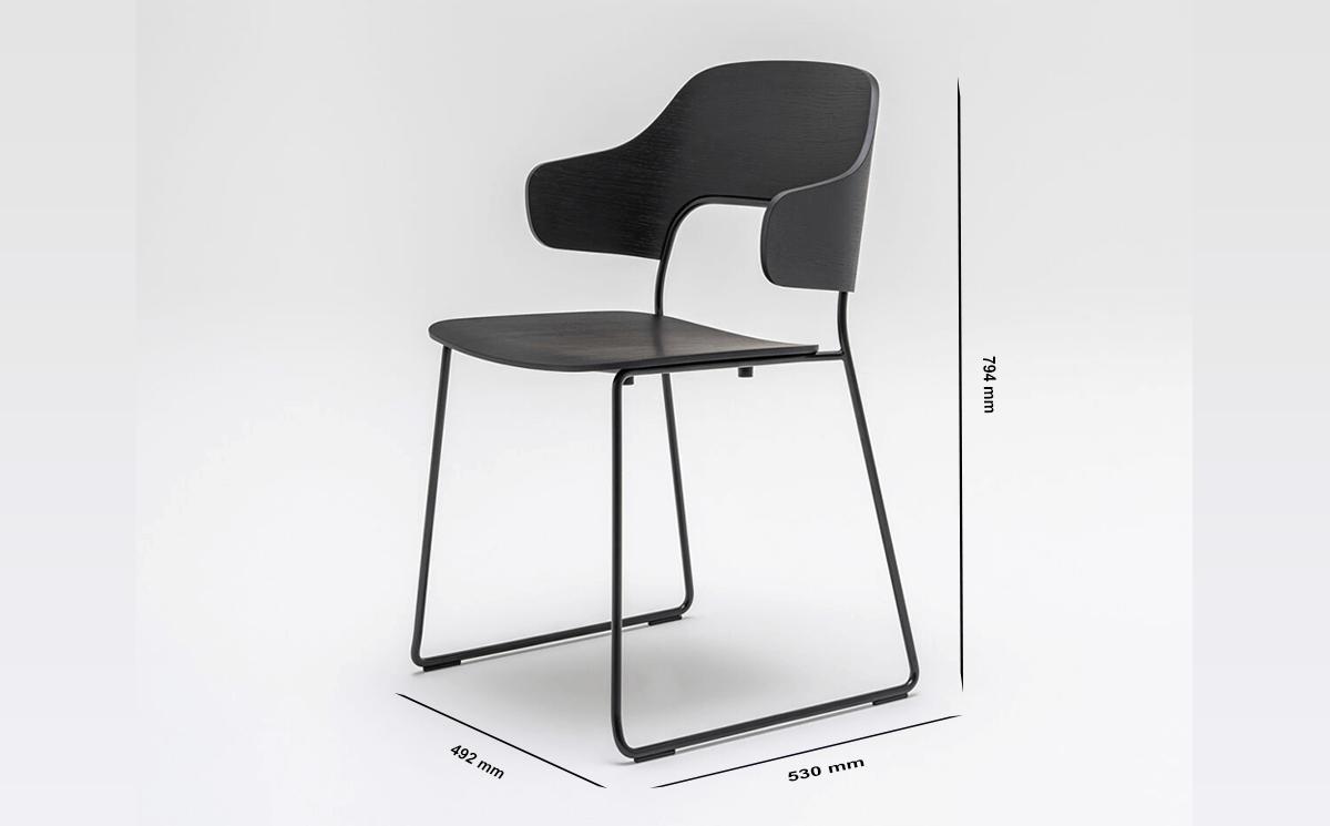 Size Hygge – Modern Scandinavian Design Chair