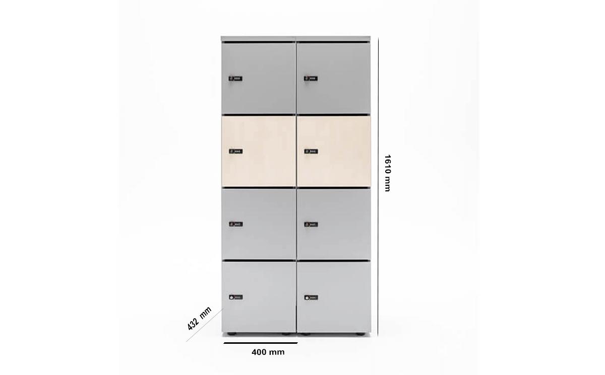 Size Noah Locker Storage Unit.