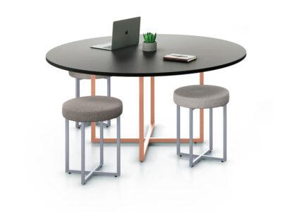 Carys Circular Meeting Desk