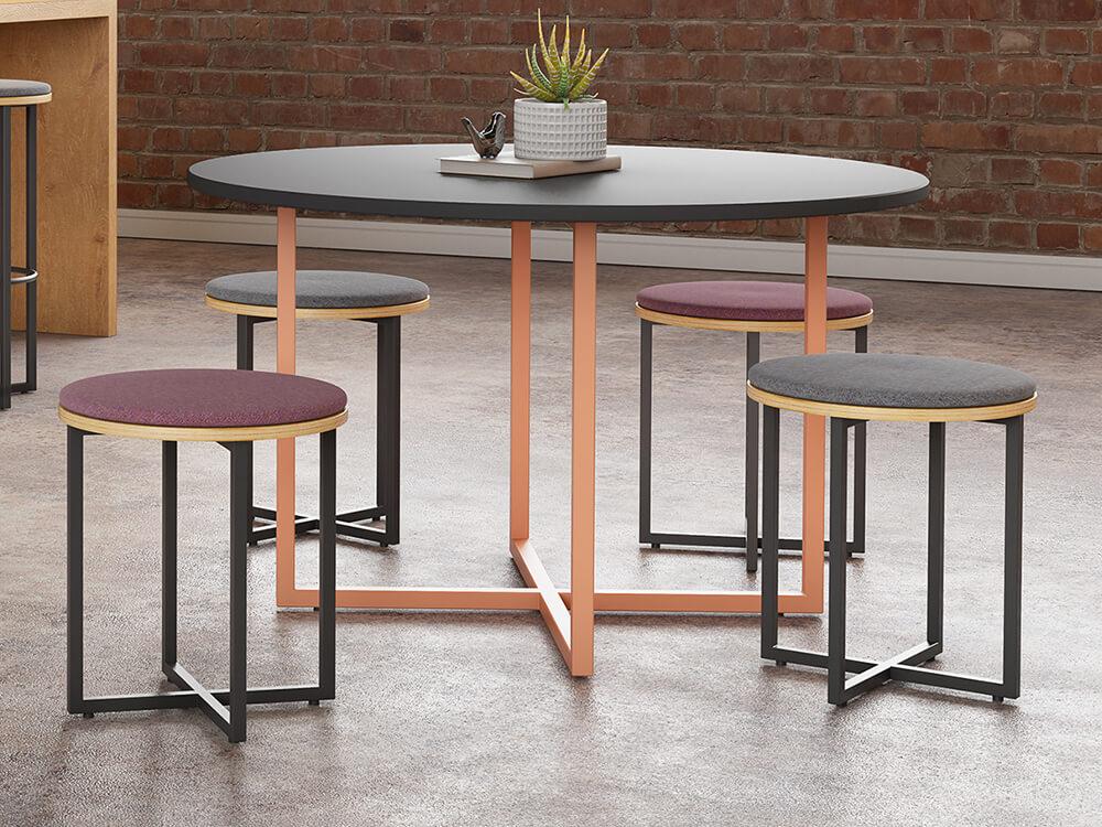 Carys Circular Meeting Desk Main Image